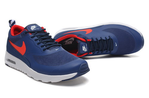 Womens Nike Air Max Thea Blue Red Discount